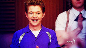 cute, damian mcginty, glee, leprechaun, rory, rory flanagan, smile