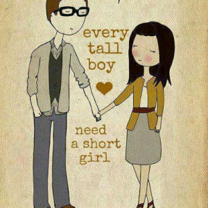 Tall Boy, Short Girl. by ThisIsAboutMe