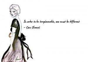Favorite Gabrielle 'Coco' Chanel quote