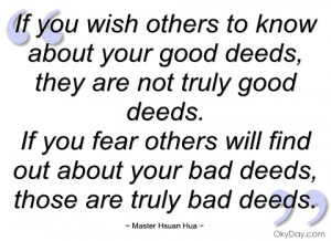 quotes about doing good deeds source http imgarcade com 1 good deeds ...