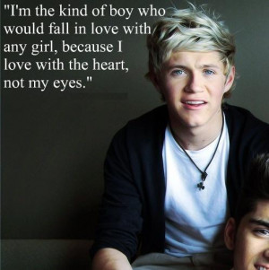 ... in love with any girl, because i love with the heart, not my eyes