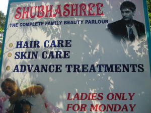 Family Beauty Parlour Only