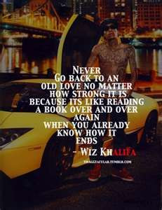 Wiz Khalifa--- You're his favorite rapper ever yet you mean way more ...