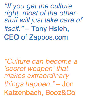 If the culture opposes strategy...the results can be disastrous. Many ...