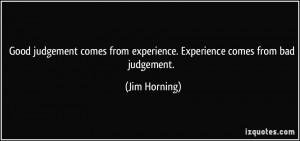 Bad Judgement Quotes
