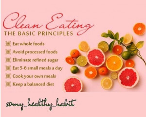 Clean Eating Rules