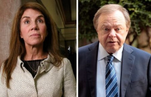 Ann Hamm and Continental Resources Chief Executive Officer Harold Hamm ...