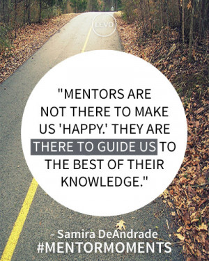 What is the best advice your mentor has ever given you?