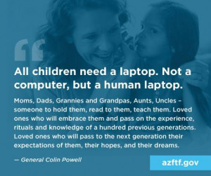 An amazing quote by General Colin Powell…