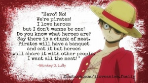 Anime quotes, best, deep, sayings, hero