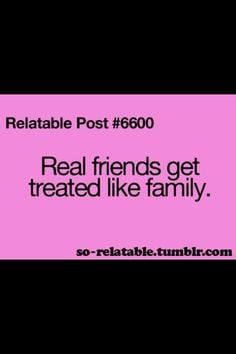 Hahah then my only real friends are the guy I like and my best friend ...