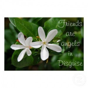 Angel Quotes - Friends are angels in disguise