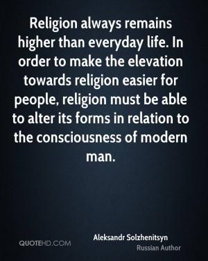 Aleksandr Solzhenitsyn Religion Quotes