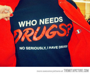 funny shirt red font