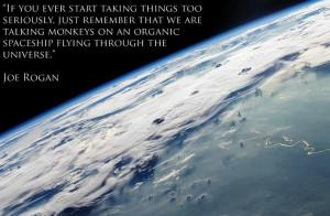 Joe Rogan On Taking Life Seriously Quote