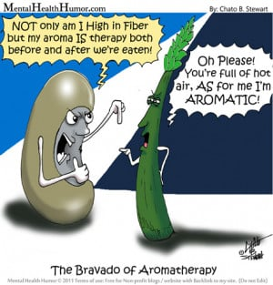 Mental Health Humor Cartoon The Bravado of Aromatherapy Image1 Kidney ...