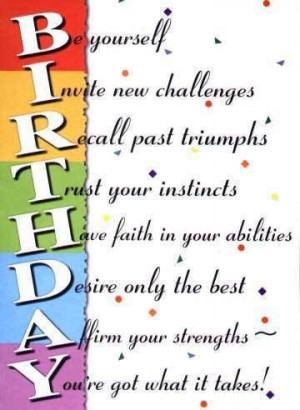 Birthday Quotes Comment Codes for Friendster & Tagged