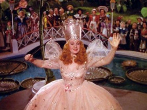 ... of oz under somewhat false pretenses as the good witch of the north