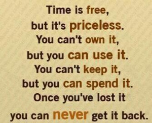 using time wisely quotes quotesgram