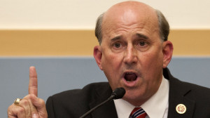 Rep. Louie Gohmert, R-Texas, gestures as he questions Attorney General ...