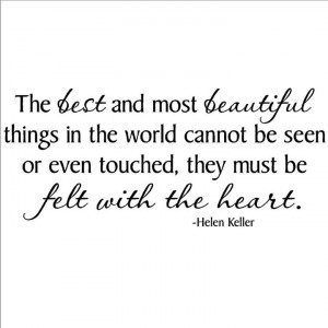 Love this quote by Helen Keller