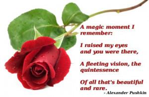 magic moment I remember: