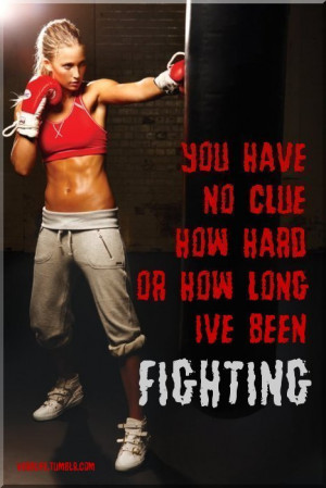 This goes out to some of the women I do kickboxing with- they really ...