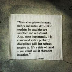 ... mental strong mental toughness quotes mental conditioning mental fit