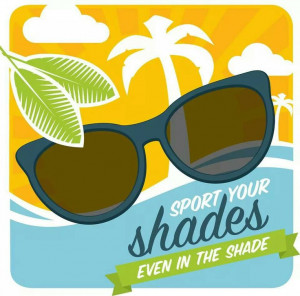 40% of UV radiation comes from indirect sunlight...so wear your ...
