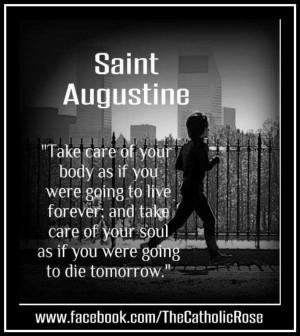 St. Augustine...