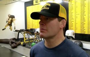 Tom Brands Wrestling Quotes Iowa wrestling coach tom