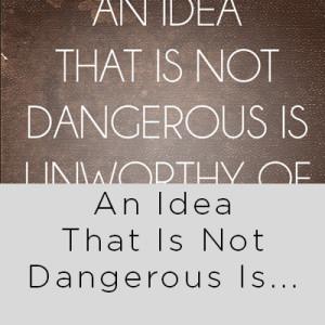 dangerous idea oscar wilde quote dangerous idea oscar wilde quote ...