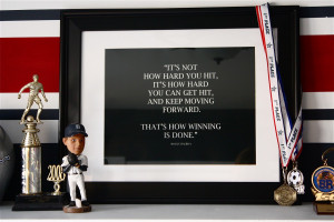 How To Create A Framed Personalized Quote (DIY)