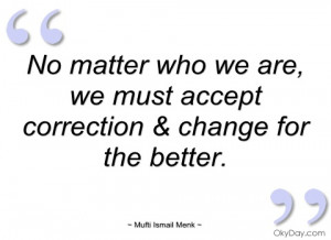 no matter who we are mufti ismail menk