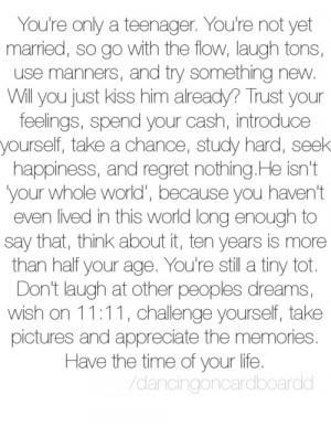 Teenage Quotes