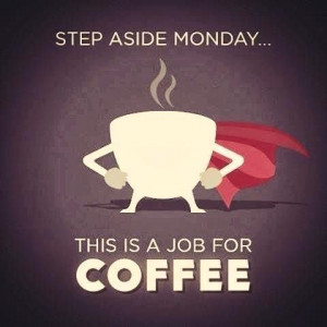 Much coffee needed!