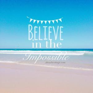 Inspirational Quotes Beach Ocean Pic
