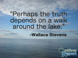 Wallace Stevens Quote #Nature #Outdoors