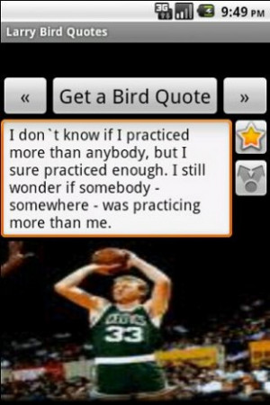 View bigger - Larry Bird Quotes for Android screenshot