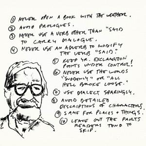 Writing Tips by Henry Miller, Elmore Leonard, Margaret Atwood, Neil ...