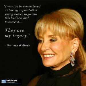 Barbara Walters' legacy: Oprah Winfrey, Diane Sawyer, Katie Couric ...