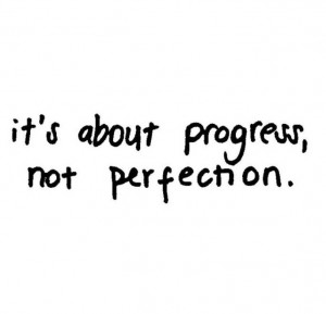 making progress...