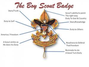 Boy Scout First Class Badge