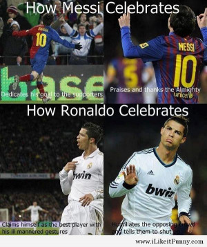 Ronaldo vs Messi funny photos Funny Picture
