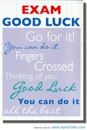 Good Luck Quotes In Hindi