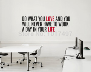 Free shipping Inspirational vinyl wall decal quote stickers - do what ...