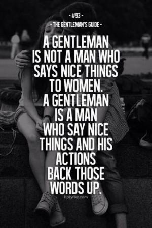 Gentleman's code