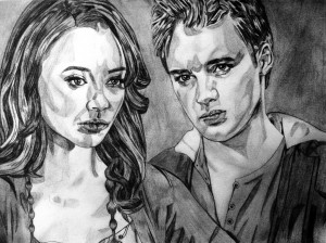 The Vampire Diaries Bonnie&Jeremy
