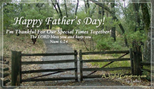 Fathers Day Bible Verses 7