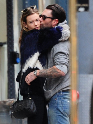 Adam Levine And Behati Prinsloo| Love Is In The Air: 21 Couples Who've ...